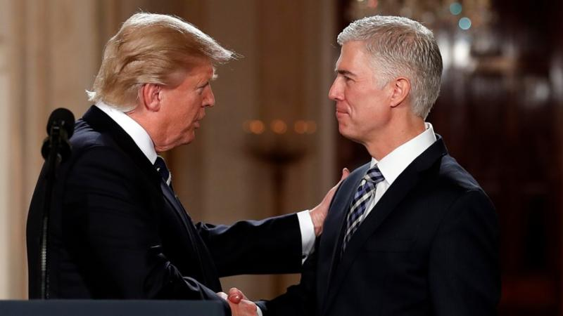 New Scalia Rising? Supreme Court justice Neil Gorsuch warns judicial activists he's coming for them