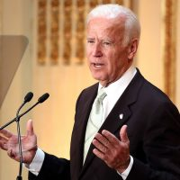 Biden vows to 'hug' opponents if they attack during Dem debate