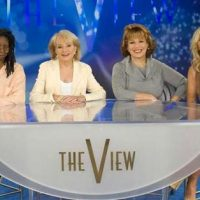 'The View' Doctors Image of Trump's Tweet To Cover Up Ex-Husband's Role