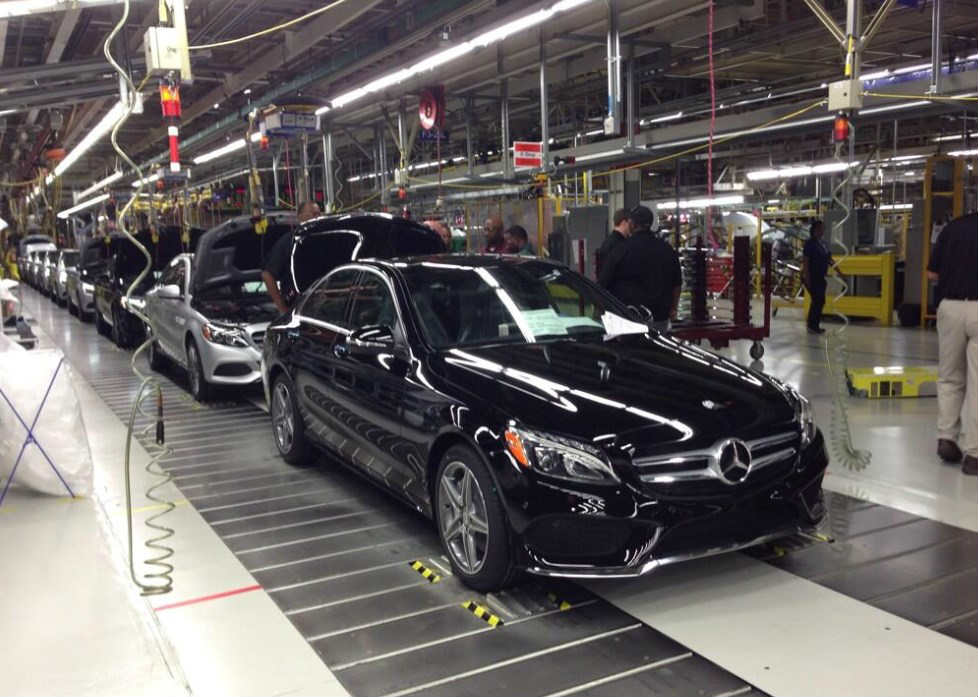 Mercedes benz tuscaloosa plant c class blunt force truth for Mercedes benz hoover al