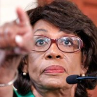 As impeachment stalls, Maxine Waters orders Trump to 'just get out!'