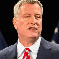 A major New York police union declares open war on Mayor De Blasio