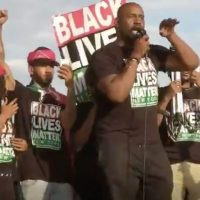 BREAKING=>Black Lives Matter BLOCKS LIGHT RAIL TRAIN to SUPER BOWL STADIUM (VIDEO and PICS)