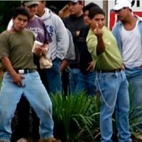 CHAOS: 'Caravan' of illegals climb border fence, cheer 'Gracias, Mexico!'