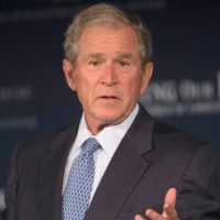 Who Asked You?: George W. Bush Weighs In On 'Russia' Conspiracy
