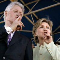Clintons hunker down after Epstein revelations, media silent, #BillClintonIsAPedo trends on Twitter