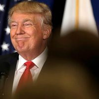 'Filthy canopies' and 'mussed my hair': The Funny Trump is back