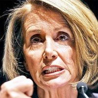 Pelosi repeatedly says incorrect words: 'Commensurate — common sense', 'Tax force — task force'
