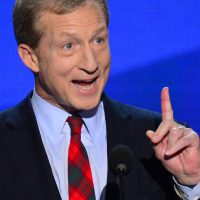 A sleaze storm spewing up from the clean, green Tom Steyer campaign