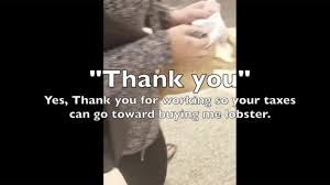Video Featuring Woman Buying Lobster For Dog With Food Stamps