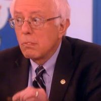 Bernie Sanders Attends Gun Control Event With Armed Security Because Of Course He Does (VIDEO)