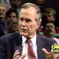 George Bush Resigned In Outrage From NRA After Oklahoma City Bombing