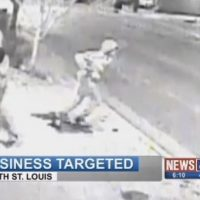 St. Louis Business Threatened and Harassed for Hanging Flag Supporting Police (Video)