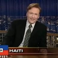 "FLASHBACK: Conan O'Brien Trashes Haiti With ""Burning Pile of Tires"" Joke In 2005 (VIDEO)"