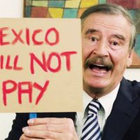 "Brazen Mexican Vicente Fox Writes Manifesto for America, Calls for Unity – Then Tells Trump He Won't Pay for the ""F*cking Wall"""