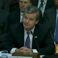 BOOM! Sen. Tom Cotton Asks FBI Director Wray if Dossier Author Was Employed by Putin-Linked Oligarch – WRAY WON'T ANSWER! (VIDEO)