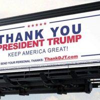 Trump Supporters Are Countering Anti-Trump Billboards With Pro-Trump Billboards