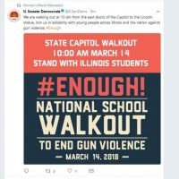National School Walkout: Marxists Rally Thousands Of Students Against Guns And The Constitution