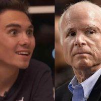 WILD HOGG: Anti-Gun Activist David Hogg Goes After Brain Cancer Victim John McCain
