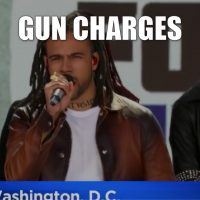 Anti-gun protest performer — arrested for gun crime last year