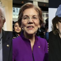 Liberal millionaires Warren, Sanders, Michael Moore lecture Americans about income inequality