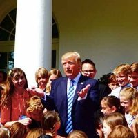 "Trump To Kids Of Media: ""Join Me In The Oval Office, Leave Your Parents."""