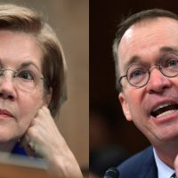 COMEDY GOLD: Mulvaney Tells Elizabeth Warren It's Her Fault That He Doesn't Have To Answer Her Questions
