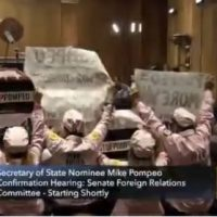 Screaming Code Pink Leftists Interrupt Mike Pompeo Senate Hearing (VIDEO)