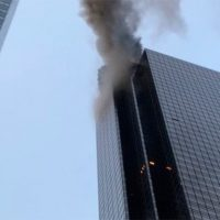 BREAKING: Major Fire Breaks Out At Trump Tower In NYC — Debris Falling From Building! (VIDEOS)