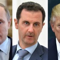 "POTUS Trump Threatens ""Animal Assad,"" Calls Out Putin Over Alleged Chemical Attack In Syria"