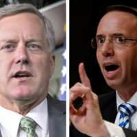 Freedom Caucus Chair Mark Meadows Demands Documents From Rosenstein: 'The DOJ Can't Be Trusted to Investigate Themselves