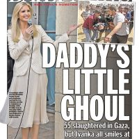 "Disgusting! NY Daily News on First Daughter Ivanka Trump: ""Daddy's Little Ghoul"""