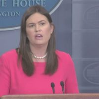 VIDEO: Sarah Sanders Rips Media and Liberals for Defending MS-13 After Pres. Trump Called Them 'Animals'