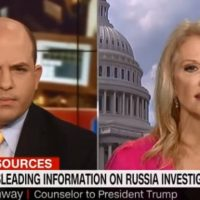 "Kellyanne Turns The Tables On CNN Host: ""How Did Your Wife Vote?"" (VIDEO)"