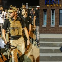 Oath Keepers Offering A Free Security Detail To Gun Toting Kent State Grad After Death Threats