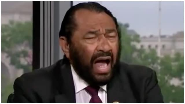 Image result for congressman al green angry