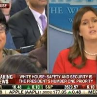 BEAUTIFUL! Sarah Huckabee Sanders SHUTS DOWN Liberal Hack April Ryan (VIDEO)