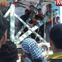 "VIDEO: Peaceful Palestinians Brought Giant Catapult to ""Protests"" on Israeli Border on Monday"