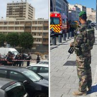 BREAKING: Three Masked Gunmen With Automatic Rifles And AK-47s Open Fire In South France