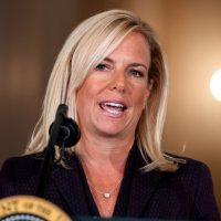 """Trump DHS Secretary Schools Democrat Senator On Immigration: """"It's A Law…"""" (VIDEO)"""