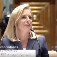 "Trump DHS Secretary Schools Democrat Senator On Immigration: ""It's A Law…"" (VIDEO)"