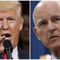 'Please Run!' Trump Begs Progressive California Governor to Run for President in 2020