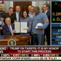 Elites at Chamber of Commerce Warn Trump's Pro-American Trade Policies Will Threaten 2.6 Million US Jobs