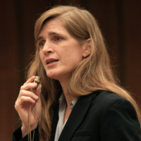 Ignoring the Samantha Power bombshell