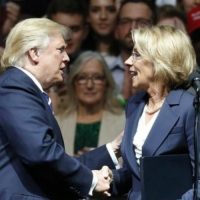 DeVos Says Gun Rights Will Not Be Further Infringed In Schools
