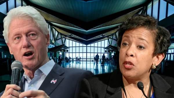 Did Security Set Up Clinton-Lynch Tarmac Meeting? IG Horowitz NEVER