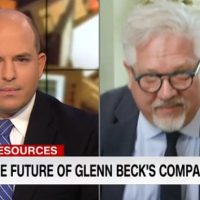 Glenn Beck Walks Out Of Interview With CNN's Stelter After Gotcha Question About The Blaze (VIDEO)