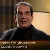 Conservative Author And Political Analyst Charles Krauthammer Reveals He Has Only Weeks To Live