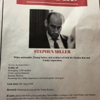 Stephen Miller 'Wanted' Posters Appear in DC as Protestors Swarm His Apartment