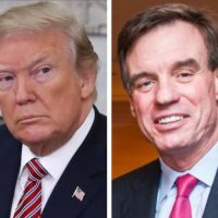 """Isn't This Highly Illegal?"" President Trump SLAMS Senator Mark Warner Over Claims 'He Has Information Only Him and Mueller Knows'"